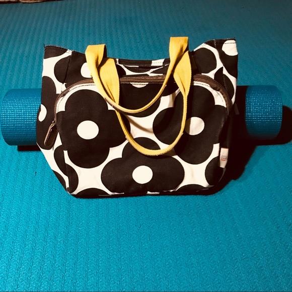 Orla Kiely Target canvas yoga gym bag. M 5b4e3e4ede6f62b43cedc0a5 33ec3c8bb1a08